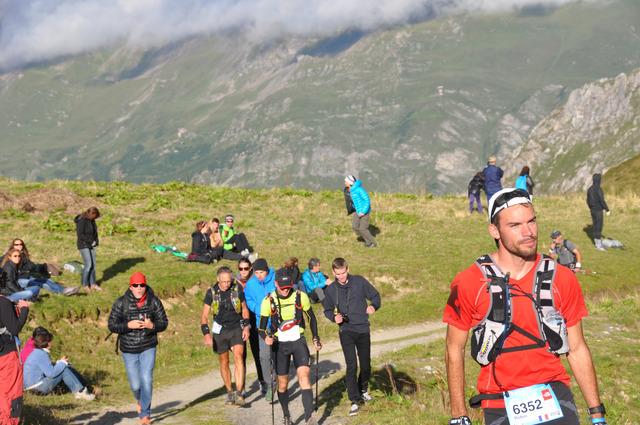 Nico au Col du petit ST Bernard